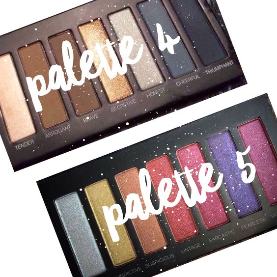 Younique's new palettes. Number 4 + 5 www.youniqueproducts.com/AmberDorsey