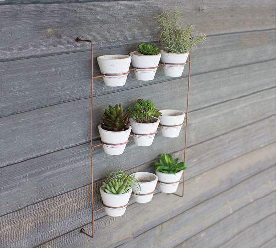Pin By Stephanie Lopez On Kitchen Decor In 2020 Diy Plant Stand Wall Planter Plant Pot Holders
