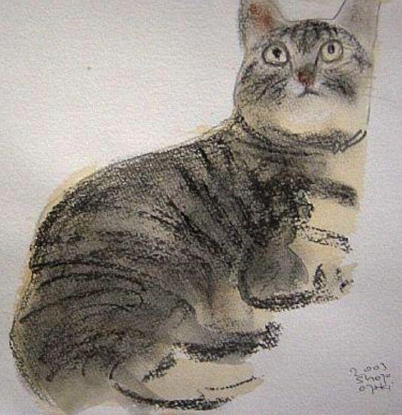 Illustration by Shozo Ozaki.:
