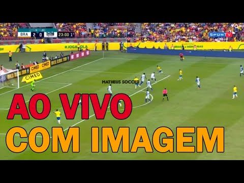 Jogo Do Brasil X Bolivia Ao Vivo Com Imagem Agora Jogos Do Brasil Brasil Bolivia