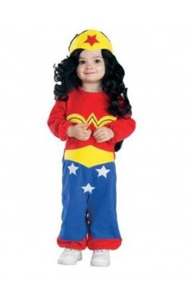 disfraz de wonder woman amazonas dc comics para beb
