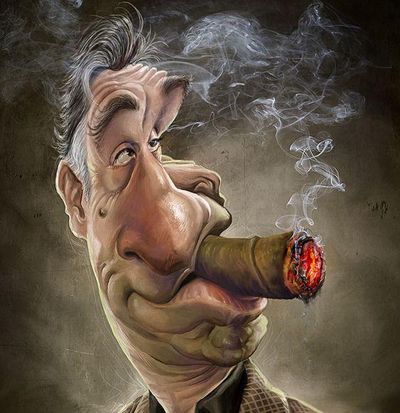Caricature Robert De Niro
