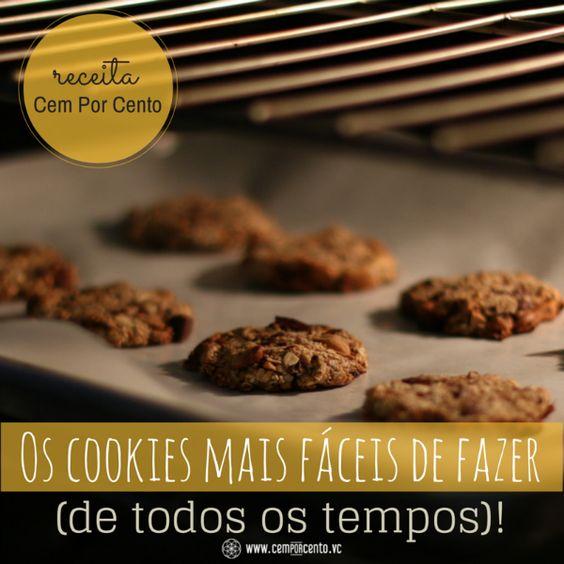 Os cookies mais fáceis de fazer (de todos os tempos)!