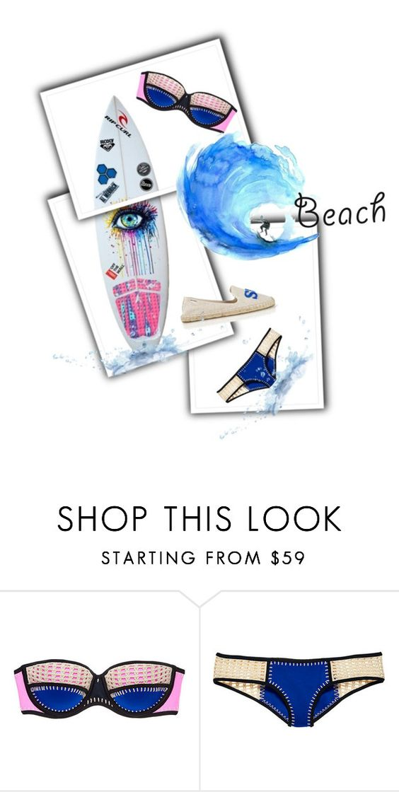 """Sans titre #373"" by glamegirl ❤ liked on Polyvore featuring Victoria's Secret, Soludos and Aquarelle"