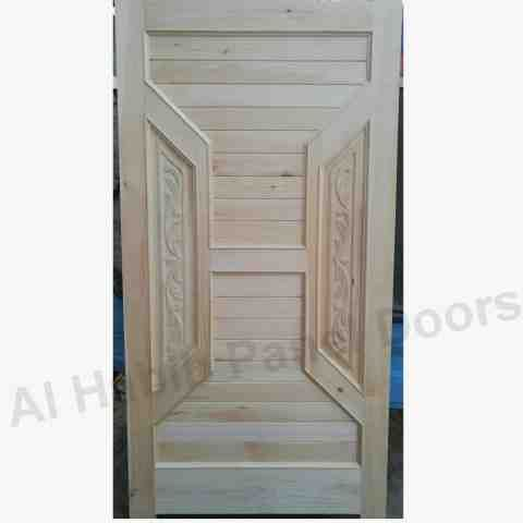 New Ash Wooden Main Door Design Six Panel Hpd562 Main Doors Al Habib Panel Doors In 2020 Solid Wood Doors Wooden Main Door Design Wood Strips