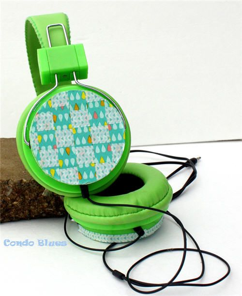 Condo Blues: Washi Tape Headphones