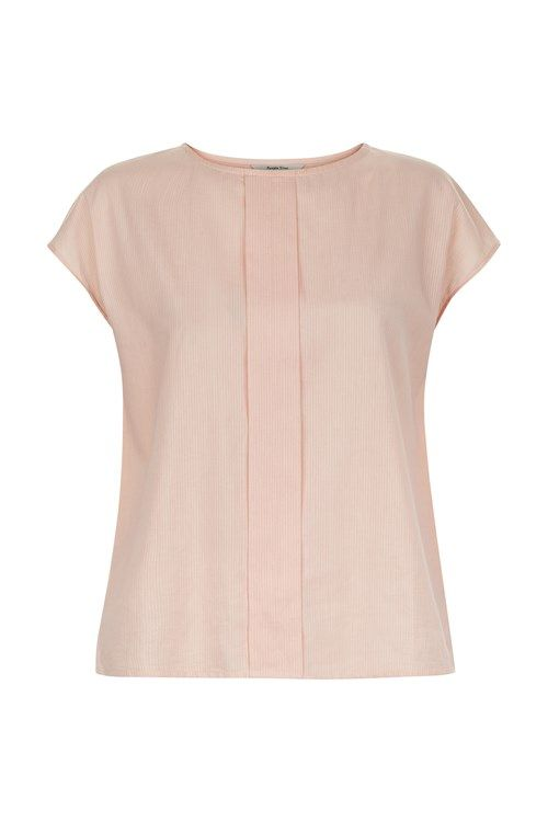 Hand woven pink top in 100% cotton with centre panel detail. Length 58cm.                   If you are in between sizes, we recommend you to choose the bigger size.