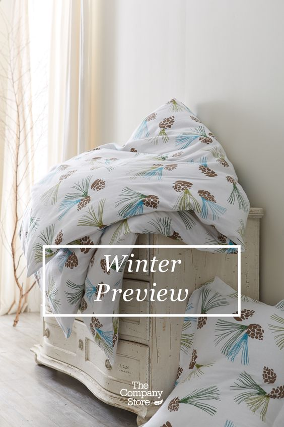 The Company Store's Winter Preview