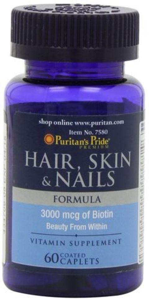 بيوريتانز برايد مكمل غذائي للبشرة والأظافر والشعر Nails First Vitamins Hair