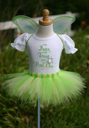 Tinkerbell 1st Birthday Party Tinkerbell Fairy Tutu