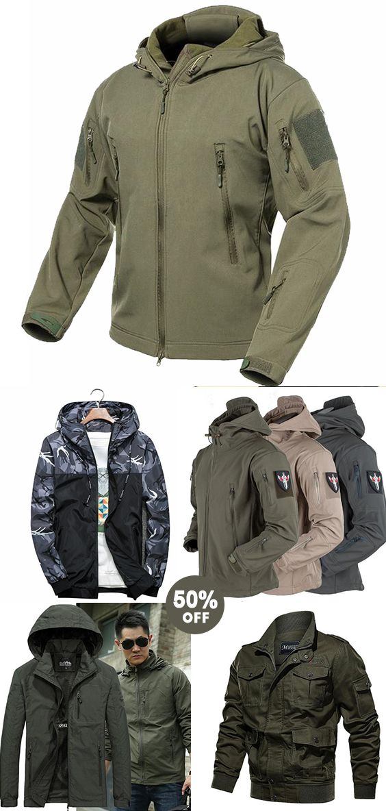 Mens Jacket Now 50% OFF! Good quality! Use promo code