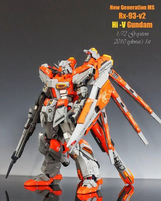 Custom Build: G-System 1/72 hi-v Gundam conversion kit - Gundam Kits Collection News and Reviews