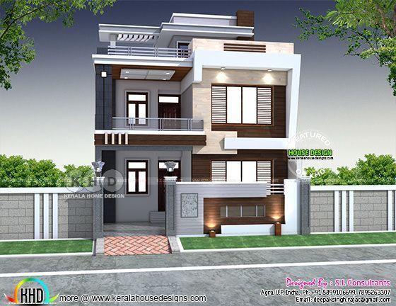 Indian Modern House Plans House Plans Kerala House Design Modern House Plans Small House Design Exterior