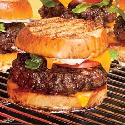 Bacon Burger Melts