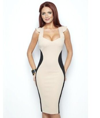 Amy Childs Marcia Contrast Dress