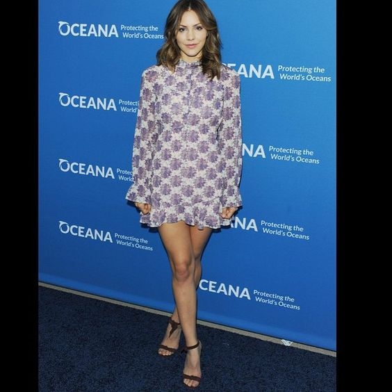Last nights look before performing at #Oceana event. Wonderful organization keeping our oceans safe and clean and wildlife protected.  Dress by @forloveandlemons and shoes @alexandrebirman