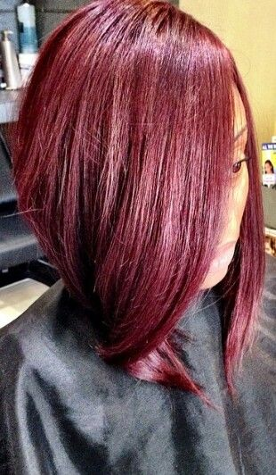 Magnificent Bobs Colors And Red Bob On Pinterest Hairstyles For Women Draintrainus