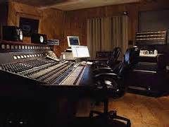 One of the mixing boards at Wally Heider Studios, San Francisco.