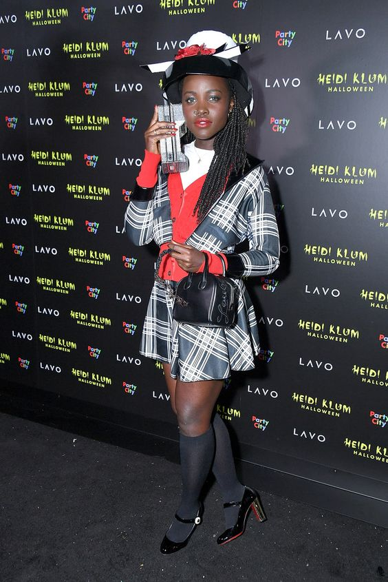 Lupita Nyong'o as Dionne from 'Clueless' - The Best Celebrity Halloween Costumes You'll Want to Copy - StyleBistro