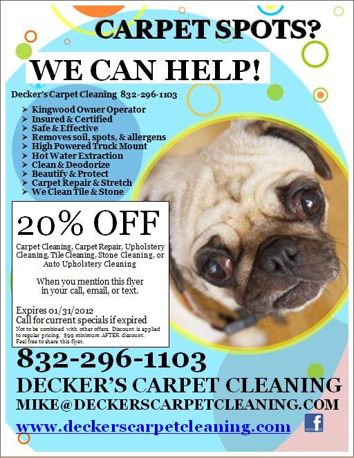 Flyers Carpets And Cleaning On Pinterest