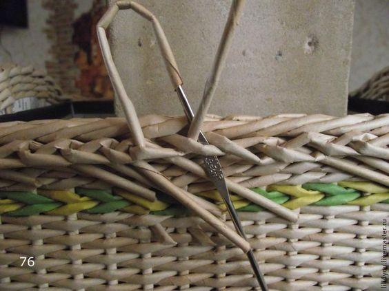 Осваиваем азы плетения из лозы