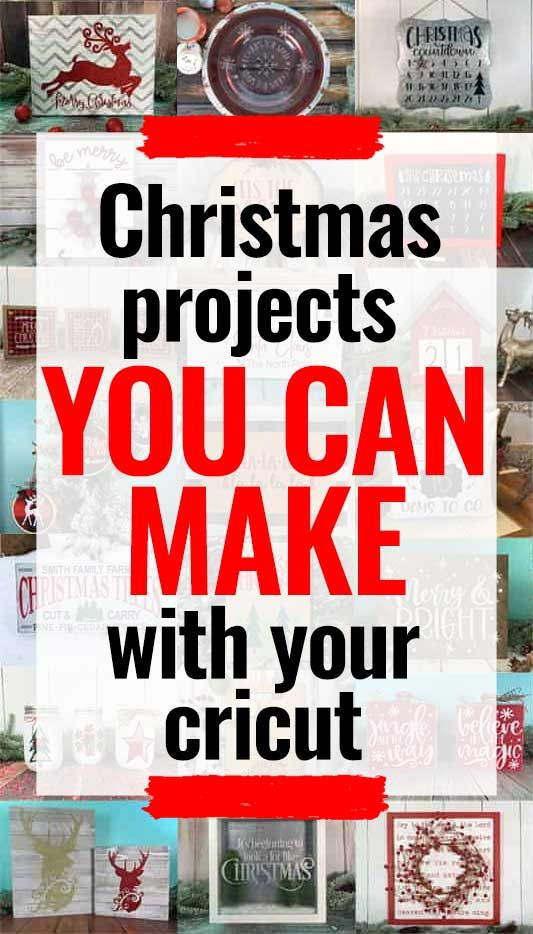 The Best Cricut Christmas Ideas And Projects You Can Make Burton Avenue In 2020 Cricut Christmas Ideas Christmas Projects Diy Cricut