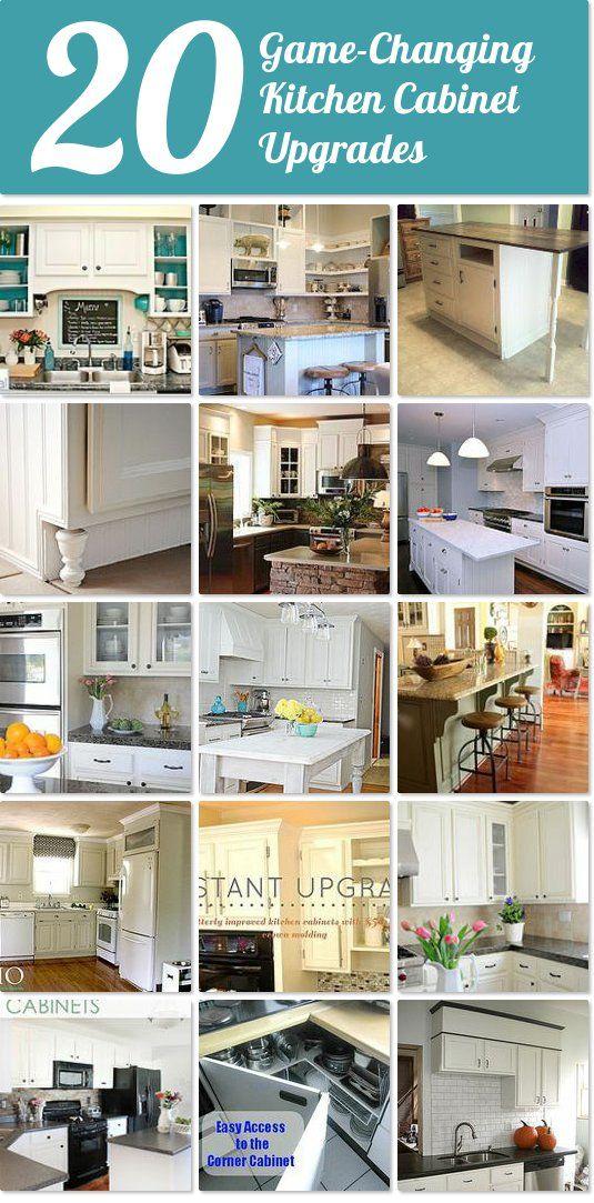 Kitchen Cabinet Upgrades Alluring Design Inspiration