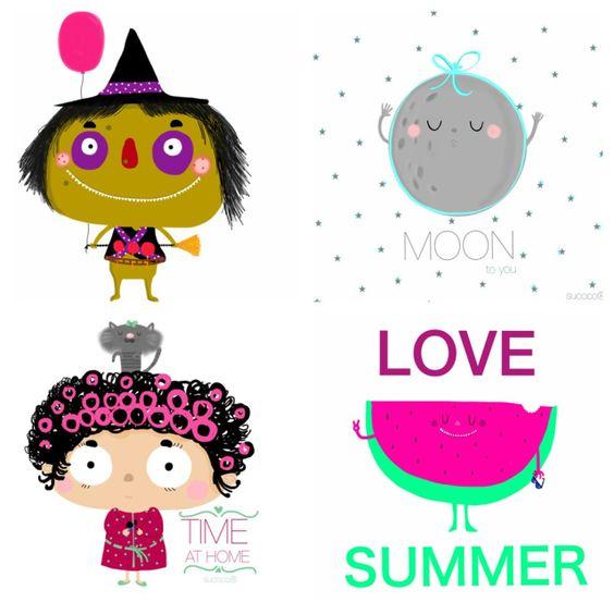Me encantan las ilustraciones de Sucoco!!