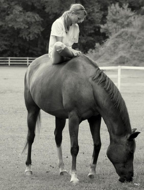 Such a cute shot. Wish I had a horse of my own to take pictures with...