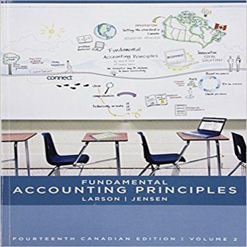 Volume 2 Fundamental Accounting Principles
