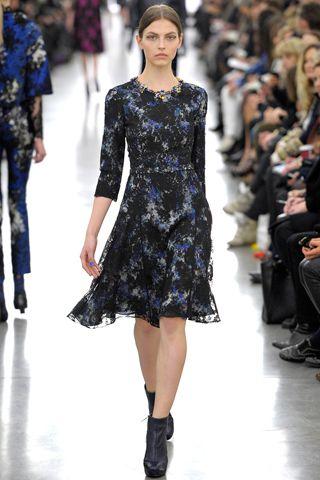 Fall 2012 RTW, Designer: Erdem, Model: Karlina Caune