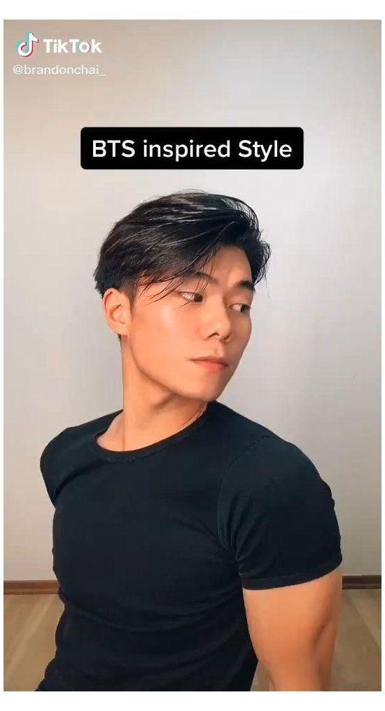Awesome Bts Inspired Hair Beauty Tiktok Korean Idol Men Fashion Styles Koreanidolmenfashionstyl In 2021 Asian Man Haircut Asian Men Hairstyle Asian Men Long Hair