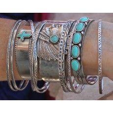 Jodi Bangles - Set of 10 Assorted- Hand Stamped