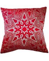 Elegant Star Christmas Throw Pillow - Frontgate Christmas Decor