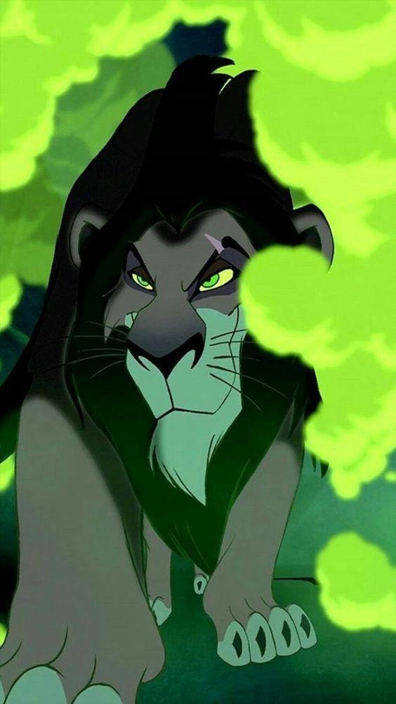 Scar Walks Through Green Steam Be Prepared The Lion King Disney Cartoons Lion King Movie Disney Lion King