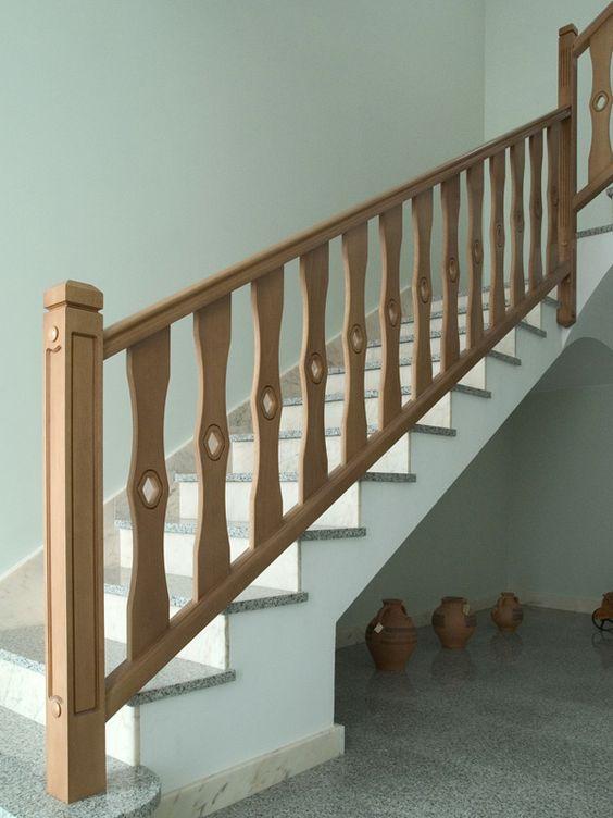 Torneados fuentespalda barandillas y escaleras de madera for Barandillas de madera para jardin
