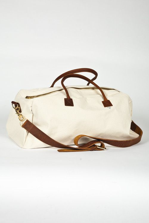 Lee 101 Duffel Bag Fog White