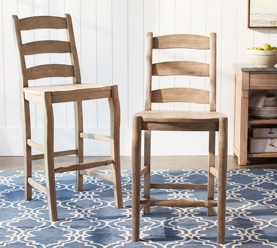Cline Counter Stool Pottery Barn Chair Design Wooden Luxury