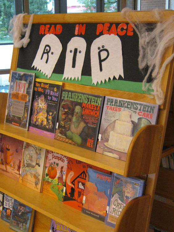 RIP: READ IN PEACE this Halloween.