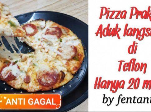 Resep Pizza Praktis Anti Gagal By Fentania Mak Resep Gagal Adonan
