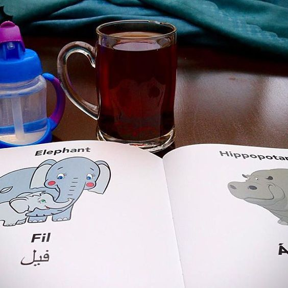 Yay, it's the weekend👍🏼what better way to spend a Saturday than bonding through fun learning with your little one(s)...just like this mama and baby 'Fil' 🐘📖💁🏽👶🏽👌🏼#tgis #englisifarsi #comingsoon #bilingualbooks #funlearning #watchthisspace #elephants