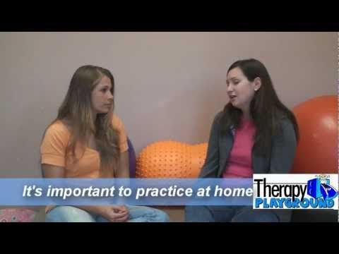 ~Great Video on  Bilingual Therapy!....Visit http://therapyplayground.com/podcast for more information.    In this episode, Julieanne and Leah discuss speech issues in a bilingual 4 year old who tested in both English and Spanish with severe receptive and expressive language delay.      The parents wanted therapy to be done in English, even though it's not the primary language spoken at ...
