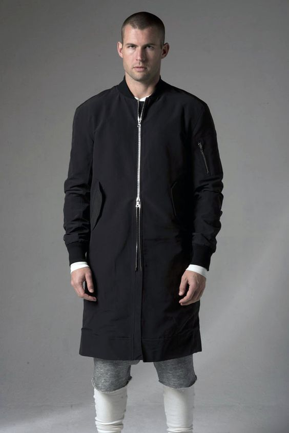 Fear of God Long Bomber - look up this brand | Things to Wear ...