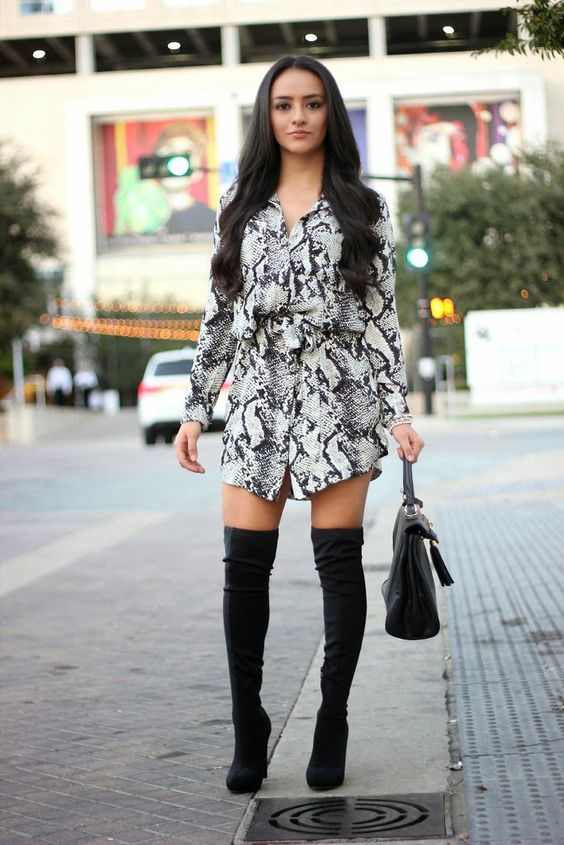 over the knee dress boots | Gommap Blog