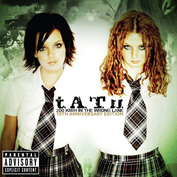 t.A.T.u. – All the Things She Said (single cover art)
