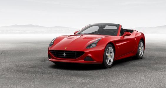 Official Ferrari California-T car configurator