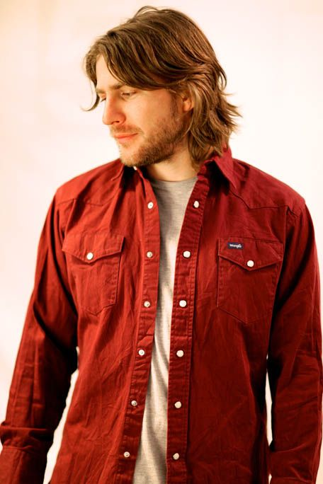 Red Denim Shirt Mens | Is Shirt