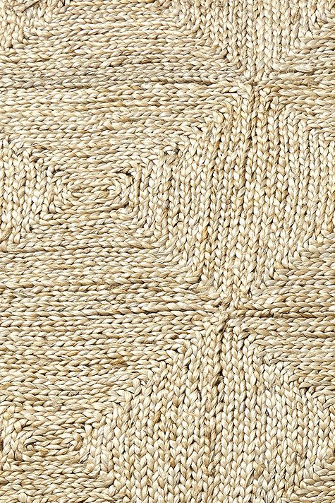 The Subtle Geometric Pattern Of The Bali Jute Rug Is