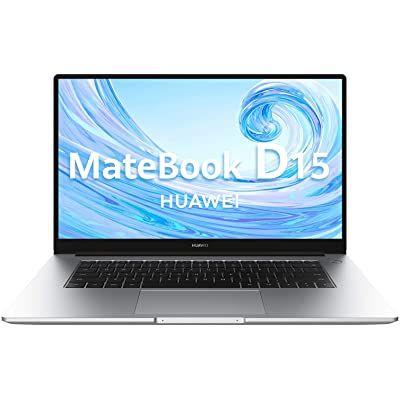 Huawei Matebook D15 - Ordenador Portátil de 15.6'' FullHD (AMD Ryzen 5 3500u Multi-Screen Collaboration 8GB RAM 256GB SSD. Windows 10 Home) Mystic Silver Teclado Qwerty Español