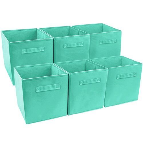 Fabric Cube Set Cube Storage Collapsible Storage Cubes Cube Storage Bins